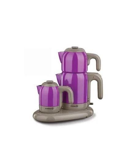 Korkmaz KORKMAZ-A353-02 Korkmaz A353 Mia Çay Kahve Makinesi Mor